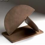 Esculturas de Jorge Oteiza en Galería de Arte Lorenart