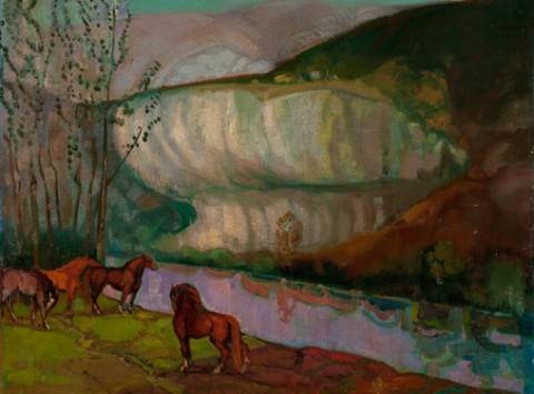 Gran éxito de la exposición de obra de arte de Galería Lorenart en Donostia