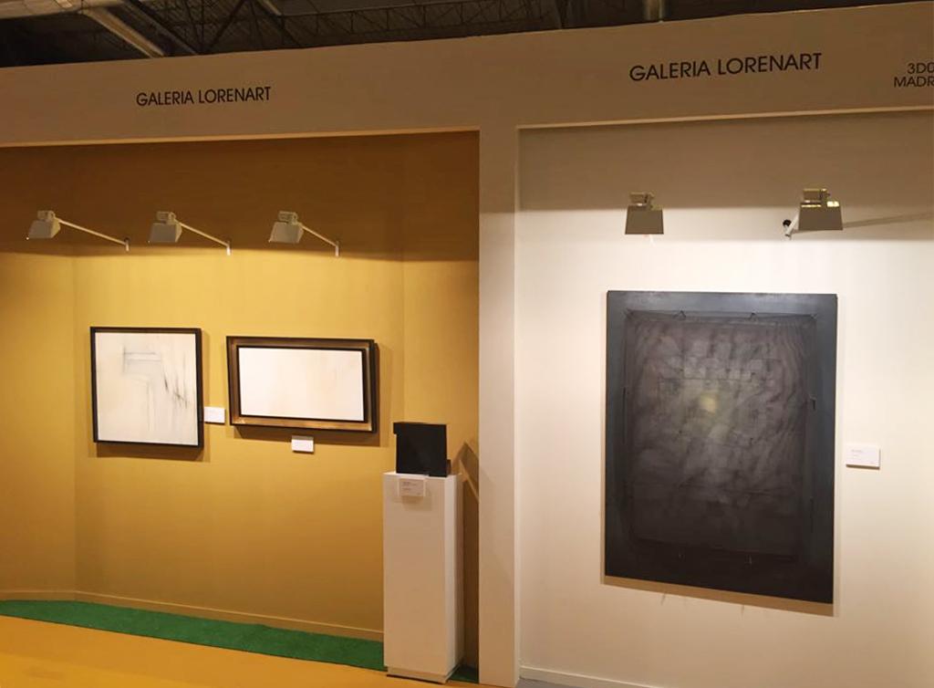 Arte contemporáneo, moderno y vanguardia en nuestro stand en Feriarte 2017