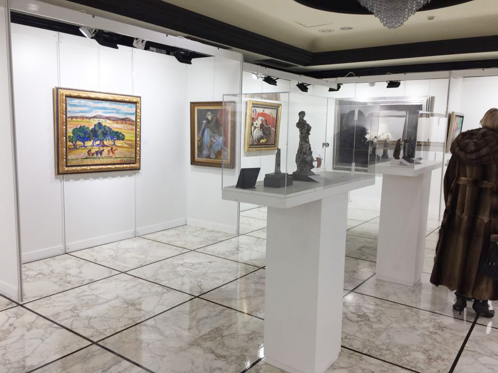 Galería de Arte Lorenart de Madrid expuso obras de grandes pintores y escultores del arte contemporaneo español